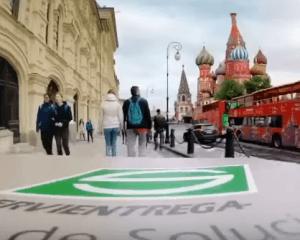 Servientrega entrega en Rusia 2018