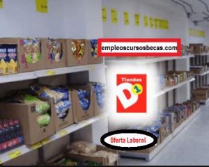 Oferta Laboral en tiendas D1