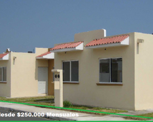 Hazte a tu casa con tan solo $250.000 Mensuales en adelante